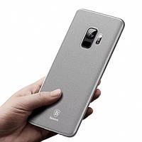 Чехол Baseus Wing Case для Samsung Galaxy S9 Серый (MB_723330227)