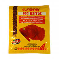 Sera Red Parrot Корм Для Рыб Красный Папугай, 20 Г