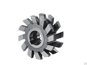 Фреза радиусная вогнутая ф 45 мм R1.5 Р9 ГОСТ 9305-93