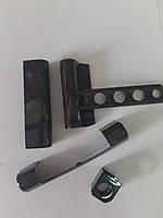 Декоративные накладки Vorne на віконні петли для ПВХ коричневі / білі