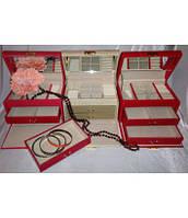 Шкатулка для украшений, драгоценностей, ювелирных изделий, бижутерии 8908