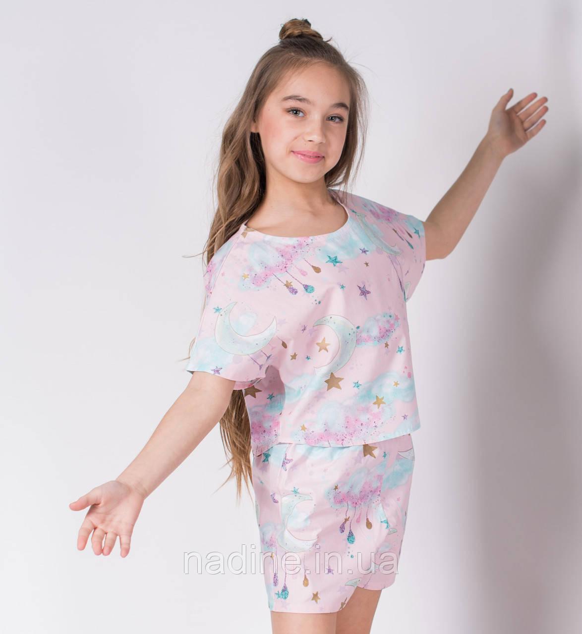 Подростковая пижама Month Eirena Nadine (784-64) на рост 164/42 нежно розовая