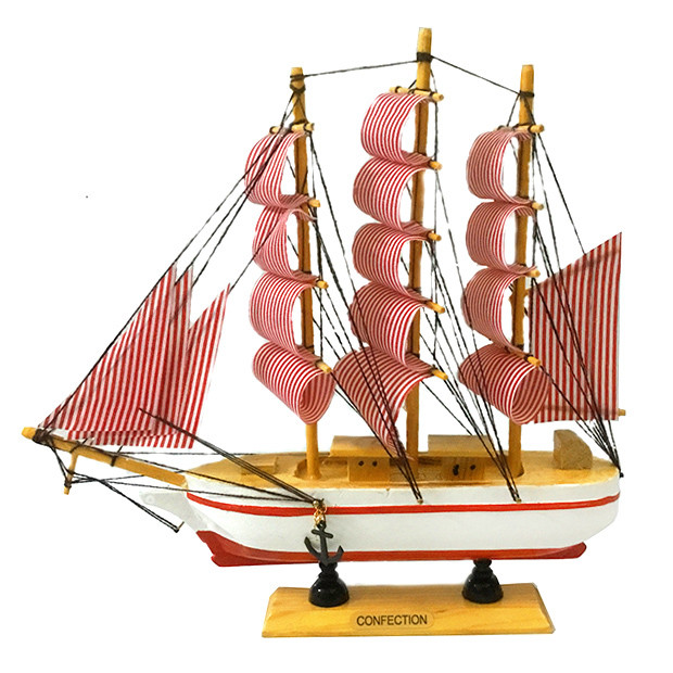 Корабель Вітрильник з дерева