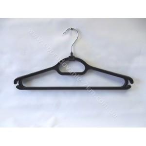 Плечики вешалки пластмассовые (костюмная) 41 см