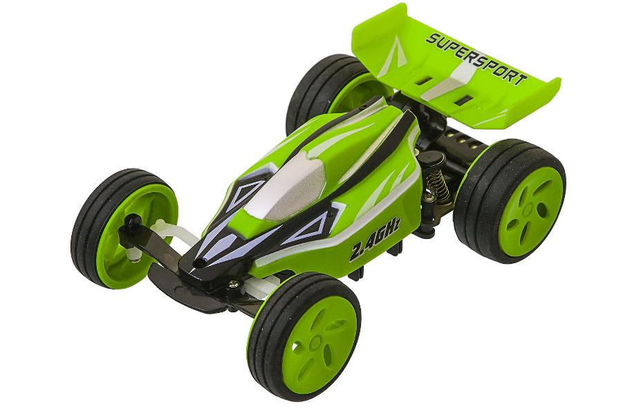 Машинка Багги микро на р/у 1:32 Fei Lun High Speed 2.4GHz скоростная Зеленая (2711954473489)