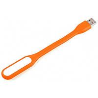 ✓Лампа Lesko MI USB светодиодная Оранжевая для освещения ноутбука питание от ЮСБ