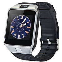 ➚Смарт-часы UWatch DZ09 Silver Bluetooth 3.0 Батарея 380 мАч разрешение 240х240px камера