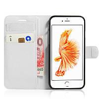Чехол-книжка Litchie Wallet для Apple iPhone 6 / iPhone 6S Белый (hub_pozV79656)