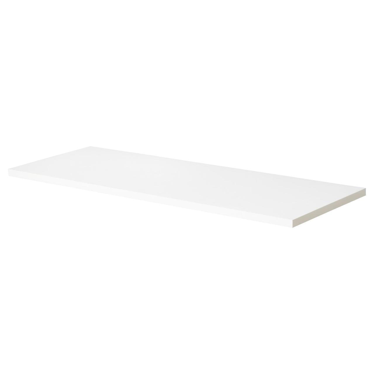 IKEA EKBYOSTEN Полка, белый  (801.439.53)