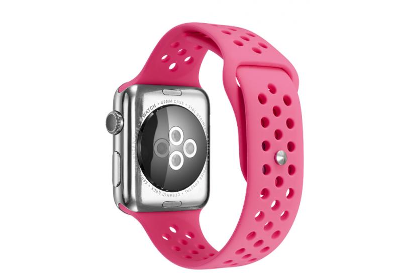 Ремешок Grand для смарт-часов Apple Watch 42 мм Sport Pink (AL1522)