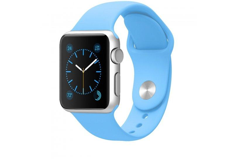 Ремешок Grand для смарт-часов Apple Watch 38 мм Sport Light Blue (AL954_38mm)