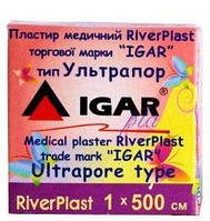Пластырь ультрапор 1х500см, RiverPlast