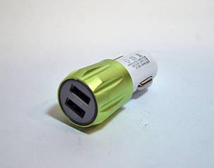 Автомобильное зарядное устройство на 2 USB Smart Mini, фото 2
