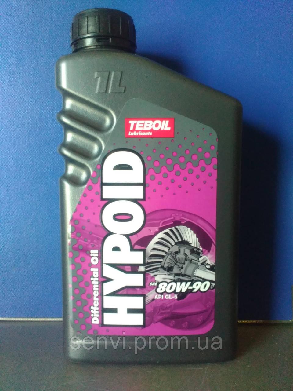 Трансмиссионное масло Teboil Hypoid 80W-90 (1л.)