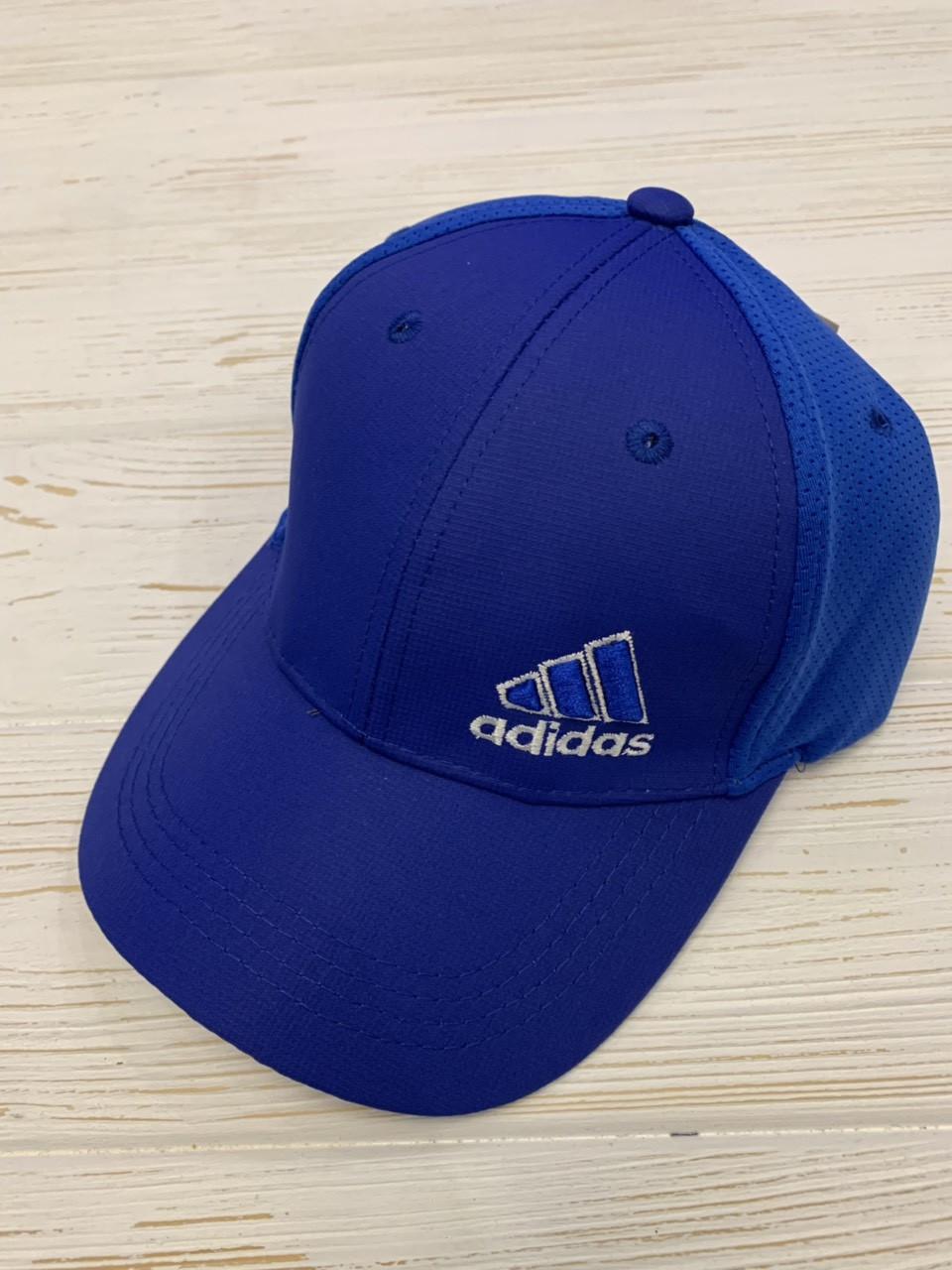 Бейсболка мужская стрейч «adidas» с вышивкой бренда,  р. 57-59
