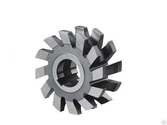 Фреза радиусная вогнутая ф 50 мм R1.6 ГОСТ 9305-93