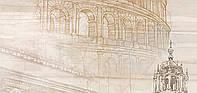 Настенные декоры Golden Tile Savoy Coliseum 300x600x9 мм №2 бежевый