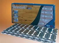"""DEVIcell монтажные пластины с теплоизолятором для """"сухой"""" установки нагревательного кабеля пол паркетную доску"""