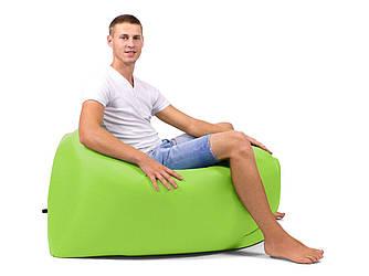 Надувной лежак, шезлонг, диван, мешок, матрас + Сумка для переноски Салатовый