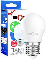 LED Лампа Biom G45 7W E27 4200K BT-564