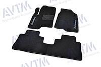 Коврики в салон ворсовые для Chevrolet Captiva (2006-) /Чёрные BLCCR1078