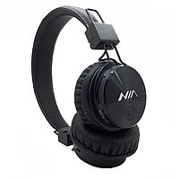 Bluetooth наушники NIA-X3  с MP3 плеером Черные (45379/1)