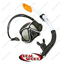 Набор для плавания маска с трубкой M266-SN138-SIL