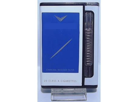Портсигар зажигалка с автоматической подачей сигарет купить сигареты с табаком герцеговина флор купить