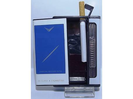Портсигар с подачей сигарет купить продавать оптом сигареты