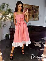 Льняное платье свободного кроя , фото 1