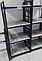 Стеллаж УГОЛ 4 полки 370*1235*370 серия Призма от Металл дизайн с доставкой, фото 2