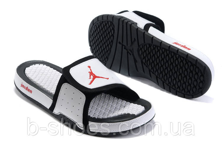Шлепанцы Air Jordan Hydro 2 White/Black