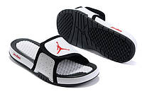 Шлепанцы Air Jordan Hydro 2 White/Black, фото 1