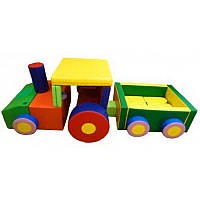 Дитячий модуль-трансформер Трактор з причепом, фото 1