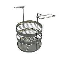 Решетка в тандыр двухярусная с поддоном