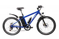 """Электрический велосипед MTB 26"""" (синий/красный)"""