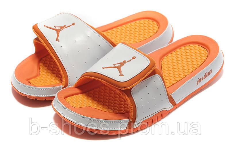 Шлепанцы Air Jordan Hydro 2 White/Orange