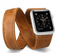 Ремешок JisonCase для смарт-часов Apple Watch 38mm Extra Long Brown (AL1006_38mm)