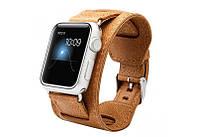 Ремешок JisonCase для смарт-часов Apple Watch 38mm Brown (AL1007_38mm)