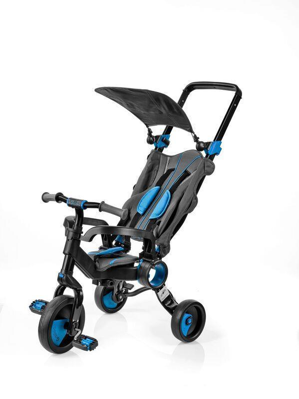 Galileo - Трехколесный велосипед Strollcycle (Black & Blue)