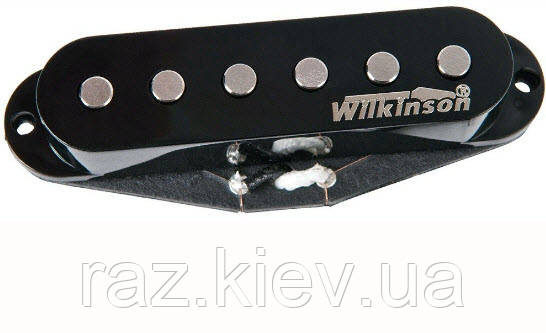 PAXPHIL MWVSH Wilkinson High Output - Middle (Black) звукосниматель сингл для электрогитар, фото 2