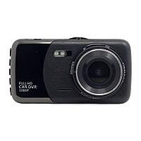 Видеорегистратор Noisy DVR T652 Full HD с выносной камерой заднего вида (hub_3sm_510618518), фото 1