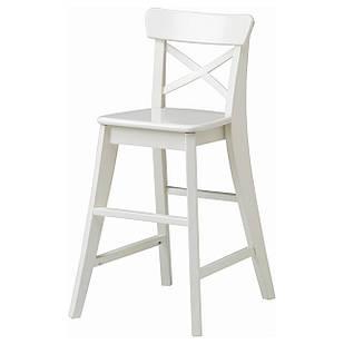 IKEA INGOLF Детский стул, белизна  (901.464.56)