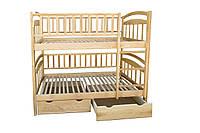 Кровать двухъярусная Карина Люкс из ясеня
