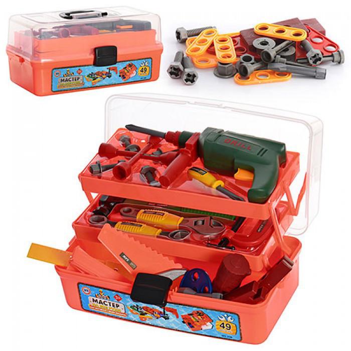 Набор инструментов детский Metr+ 2108 Красный (int2108)