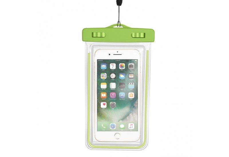 Чехол Grand водонепроницаемый для iPhone X Green (AL1348)