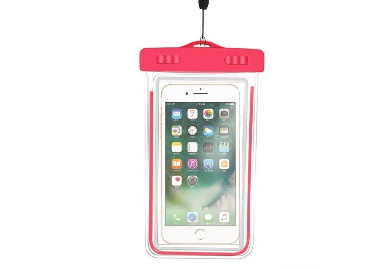 Чехол Grand водонепроницаемый для iPhone X Red (AL1351)