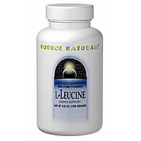 L-лейцин (L-Leucine) порошок Source Naturals 100 гр