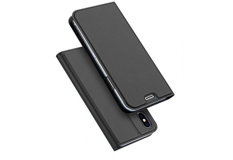 Чехол книжка DUCIS для iPhone X Black (AL1372)