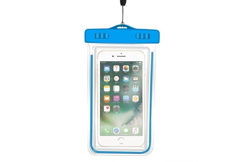 Чехол Grand водонепроницаемый для iPhone X Blue (AL1347)